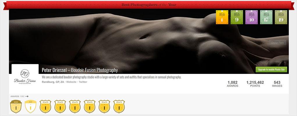 International award winning photographer