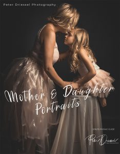 Mother and Daughter Portraits Pamphlet