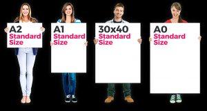 Photo print sizes